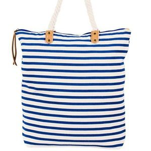 BRITTANY TOTE BY SUMMER & ROSE IN NAVY BLUE